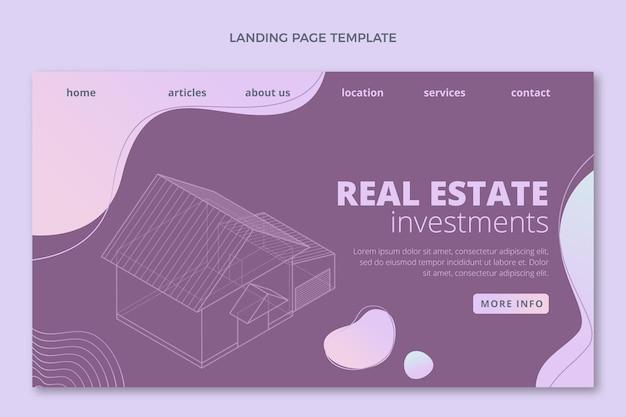 Gradiente home page immobiliare