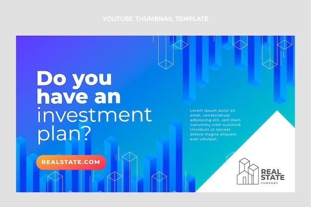 Miniatura di youtube di gradiente immobiliare