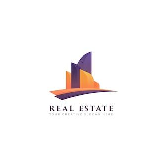 Логотип gradient real estate