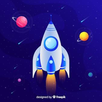 Gradient rocket