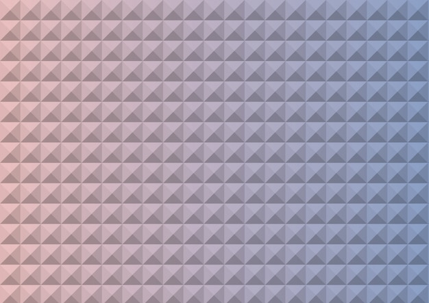 Gradient rose quartz and serenity colored triangle polygon