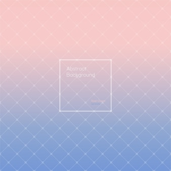 Gradient rose quartz and serenity polygonal pattern.
