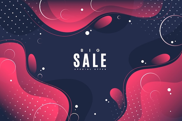Gradient sale background