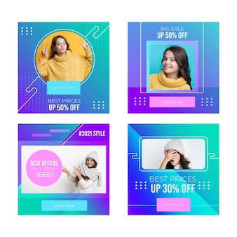 Gradient sale instagram 포스트 컬렉션