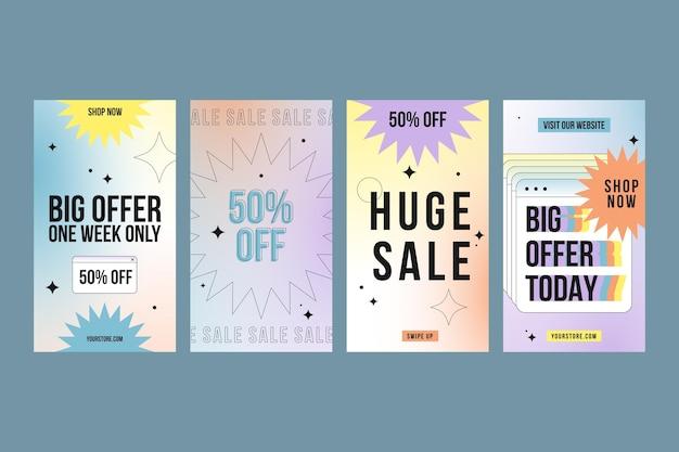 Gradient sale instagram stories collection