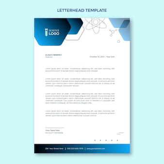 Gradient science letterhead