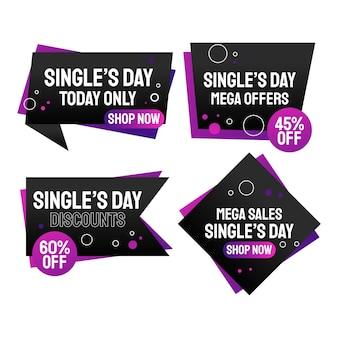 Коллекция дневных распродаж градиентных синглов