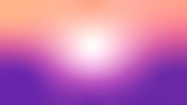 Градиентный фон неба с солнечным светом