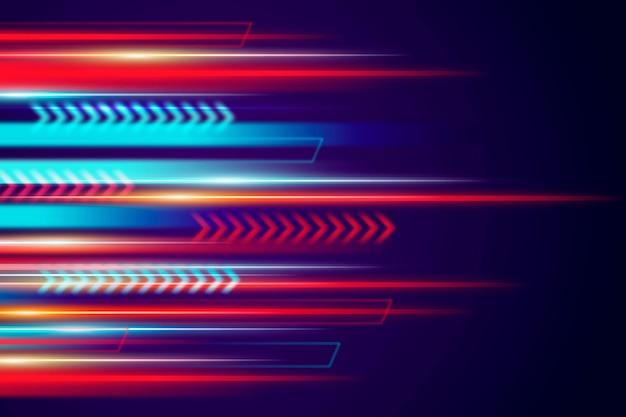 Gradient speed motion background