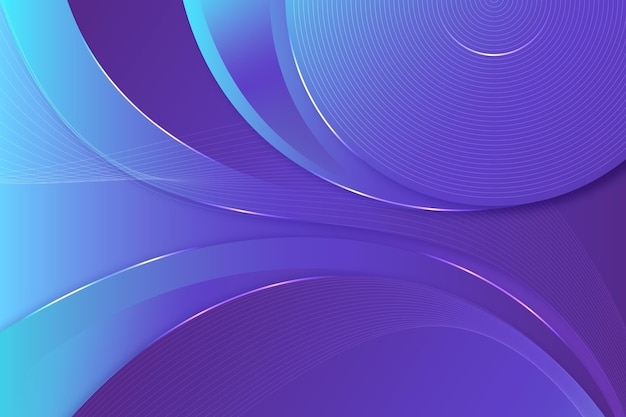 Gradient style smooth lines background