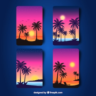 Sunset Gradient Vectors Photos And Psd Files Free Download