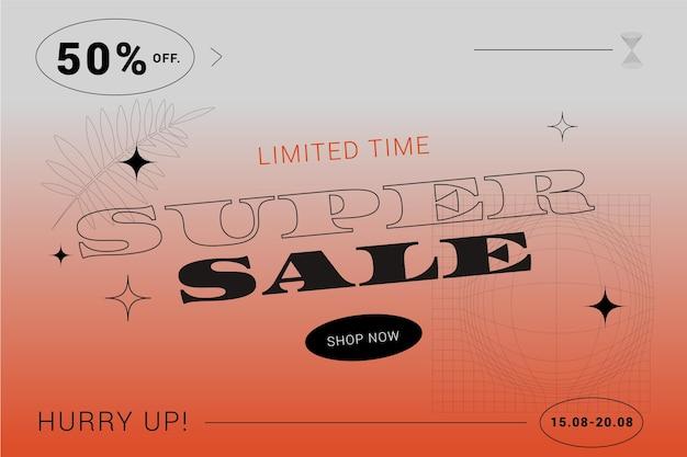 Gradient super sale background