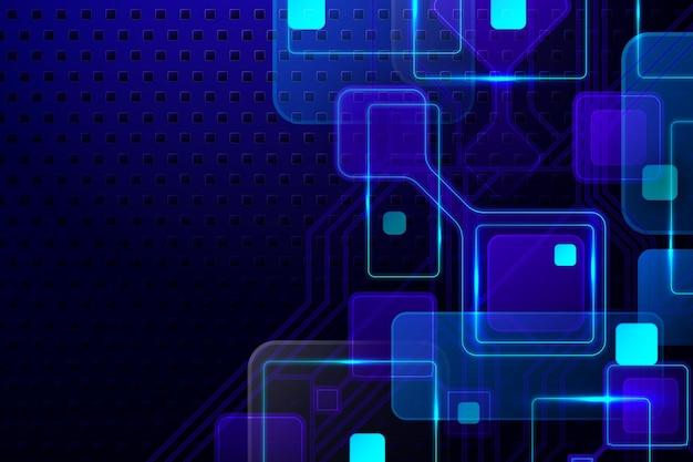 グラデーション技術の未来的な背景