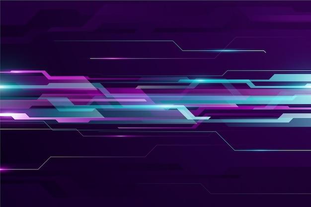 Градиент технологии динамический фон