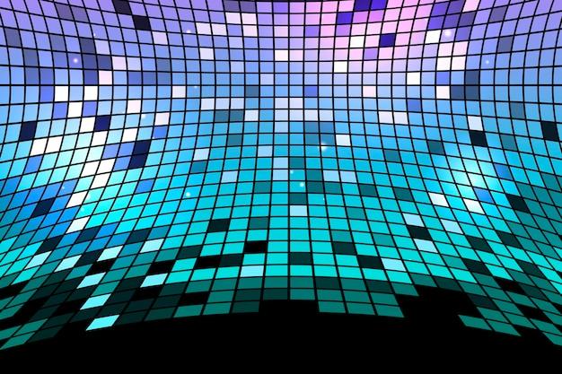 Sfondo geometrico tecnologia gradiente