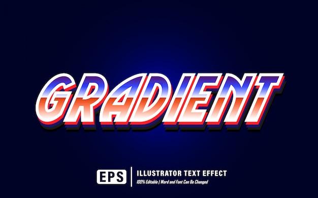 Эффект градиентного текста - редактируемый