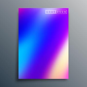チラシ、ポスター、パンフレットの表紙、背景、壁紙、タイポグラフィ、またはその他の印刷製品のグラデーションテクスチャデザイン。ベクトルイラスト。