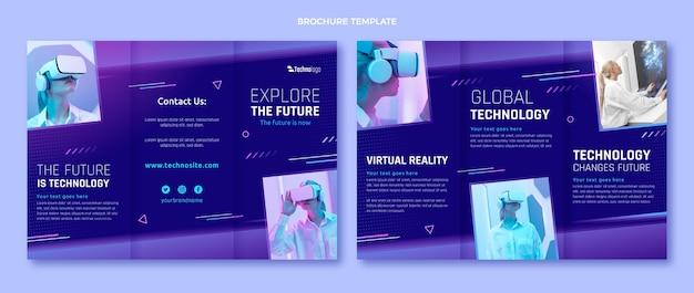 Brochure sulla tecnologia delle texture sfumate
