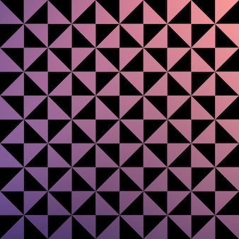 グラデーションの三角形のパターン、抽象的な幾何学的な背景。豪華でエレガントなスタイルのイラスト