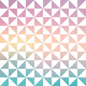 Gradient triangle pattern, abstract geometric background. luxury and elegant stylei llustration