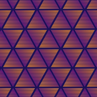 Gradient triangle pattern background