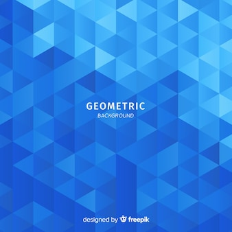 Gradient triangles background