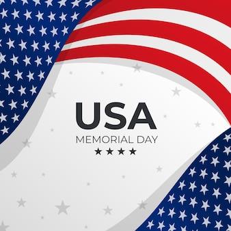 그라데이션 미국 기념일 그림