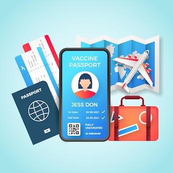Иллюстрированный паспорт градиентной вакцинации