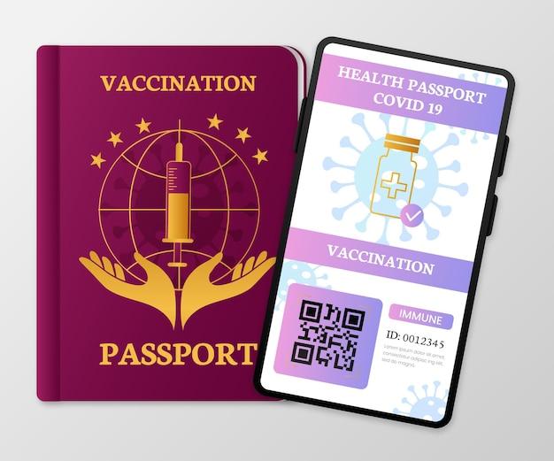 Шаблон паспорта градиентной вакцинации