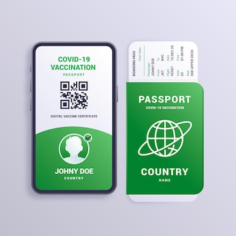 Gradient vaccination passport