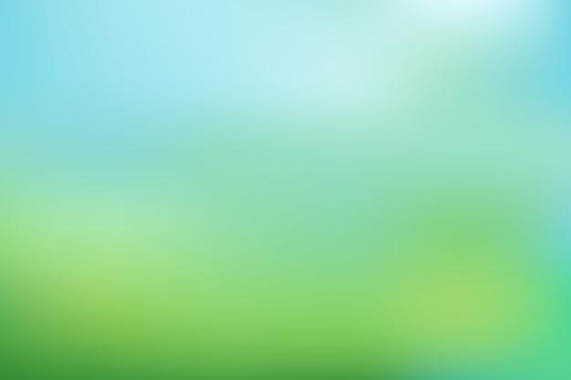 Sfondo sfumato nei toni del verde