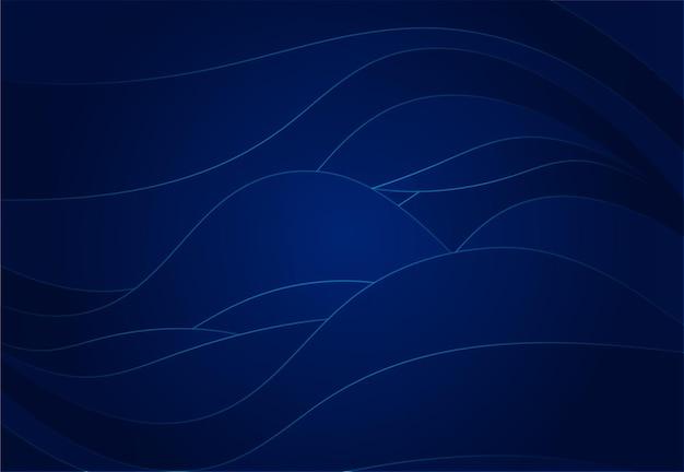 Gradient wave liquid abstract background