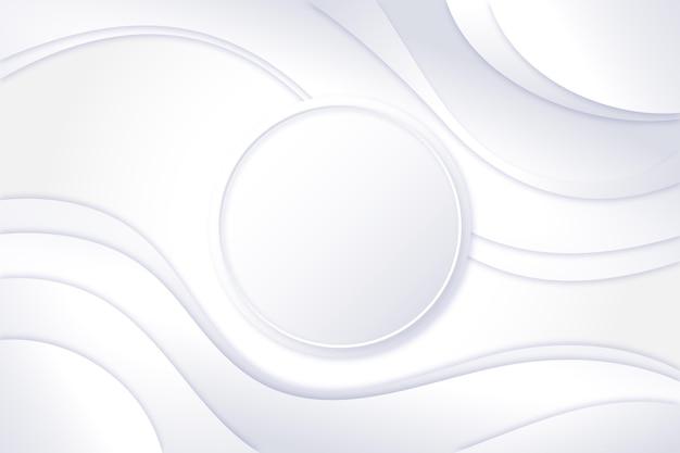 グラデーションの白いモノクロの背景