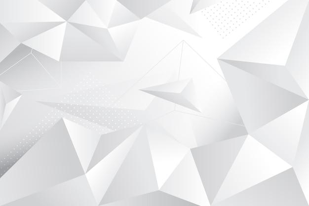 Gradient white monochrome background