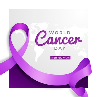 Giornata mondiale del cancro gradiente