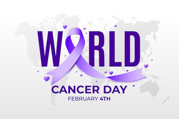 Gradient world cancer day