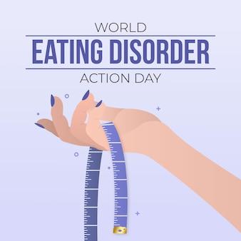 Иллюстрация дня действий градиента пищевого поведения