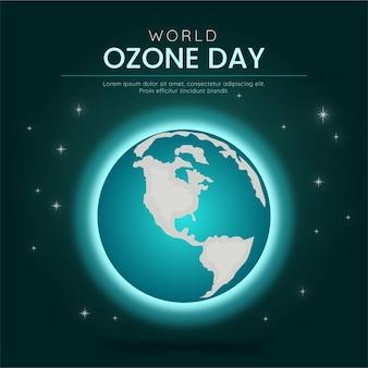 Иллюстрация всемирного дня озона