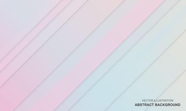 파란색과 분홍색 현대가 있는 그라디언트 배경