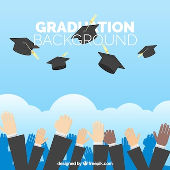 卒業記念の背景