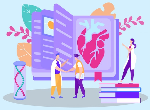 Graduation from distance medicine course