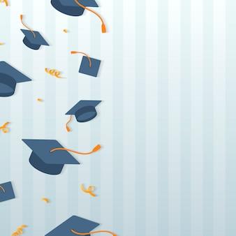 Cornice per cappelli da laurea