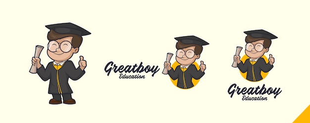 Graduation mascot