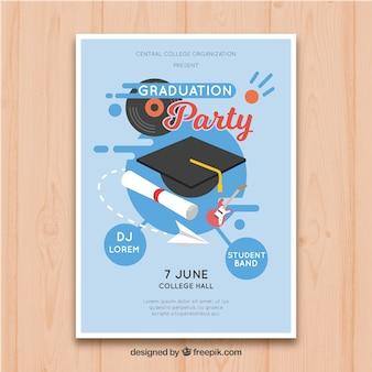 卒業式のパンフレット