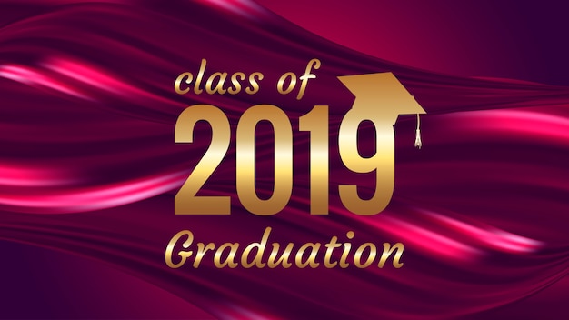 Graduation text design