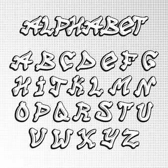 Шрифт graffity