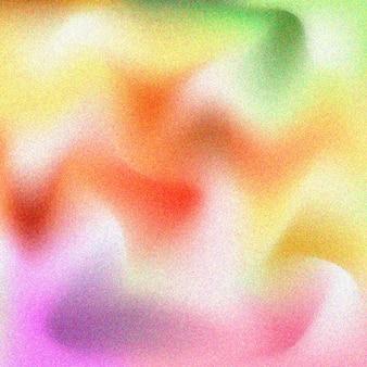 粒子の粗いカラフルなグラデーションテクスチャ