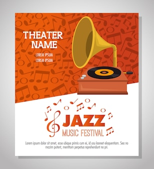 Gramophone musical festival label