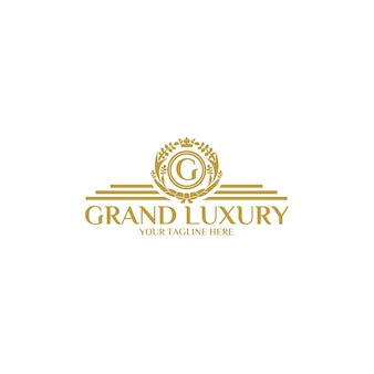 Grand luxury logo template