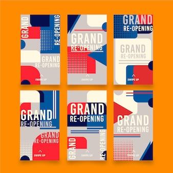 グランドオープンのinstagramストーリーコレクション